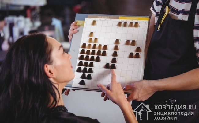 Ворсинки меха по структуре очень похожи на волосы, поэтому для их окраски зачастую используют краску для волос