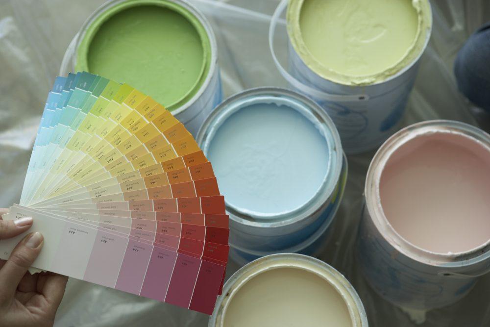 Подбор колера для краски