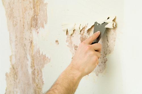 Удаление краски с проблемных мест