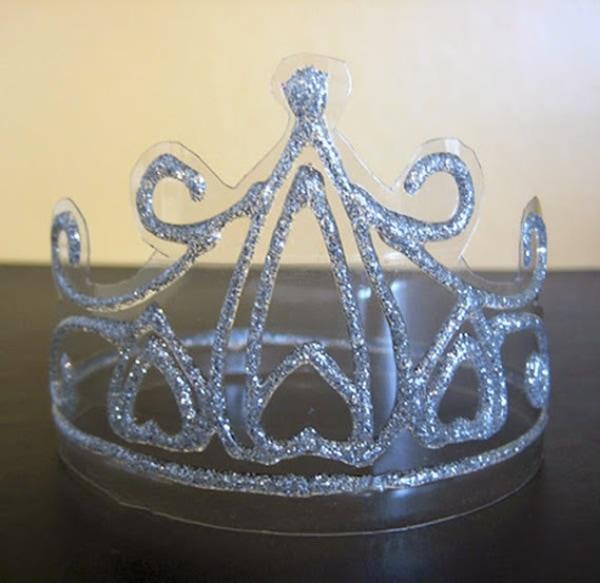 Корона из клея