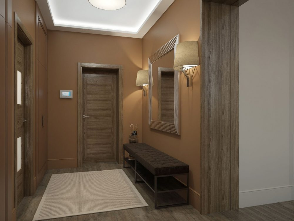 коричневый коридор