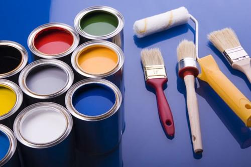 Краска и инструменты
