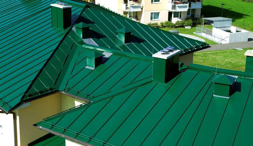 Крыша из оцинкованного металла
