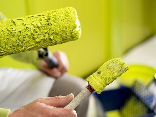 Латексная краска - особенности и технология нанесения