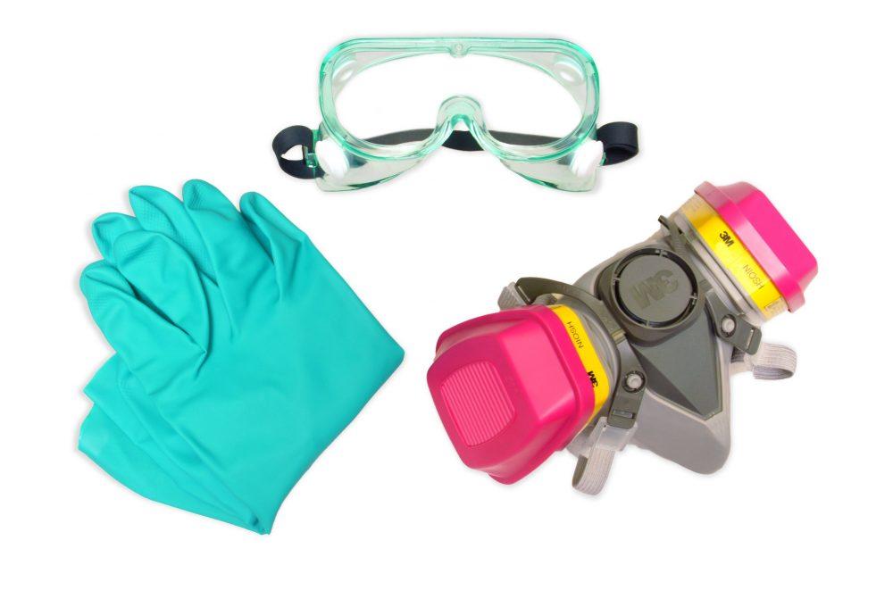 Средства защиты при покрасочных работах