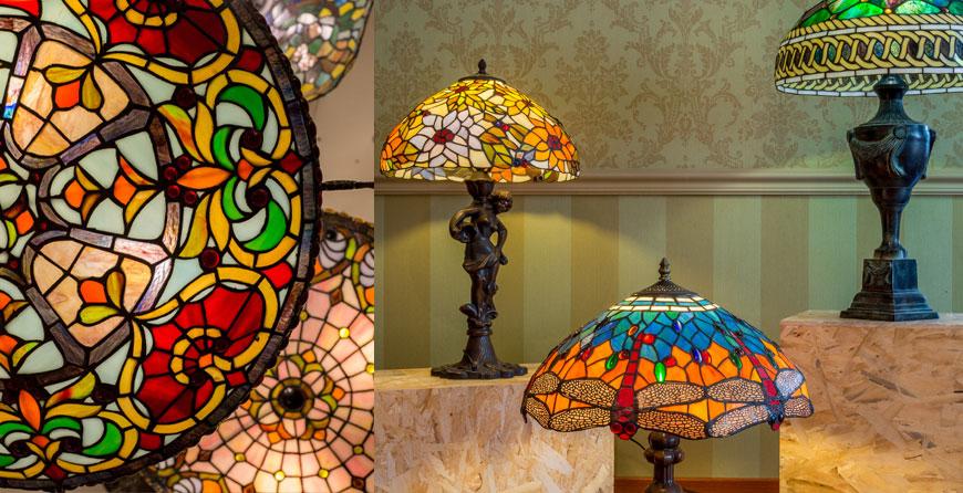 светильники Тиффани в интерьере