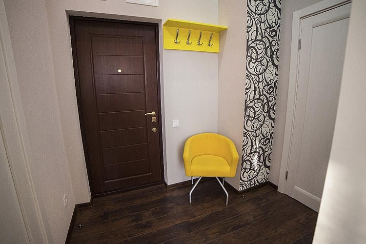 покраска стен в коридоре