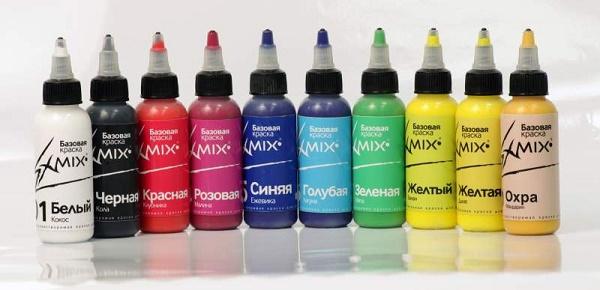 Краски для аэрографа