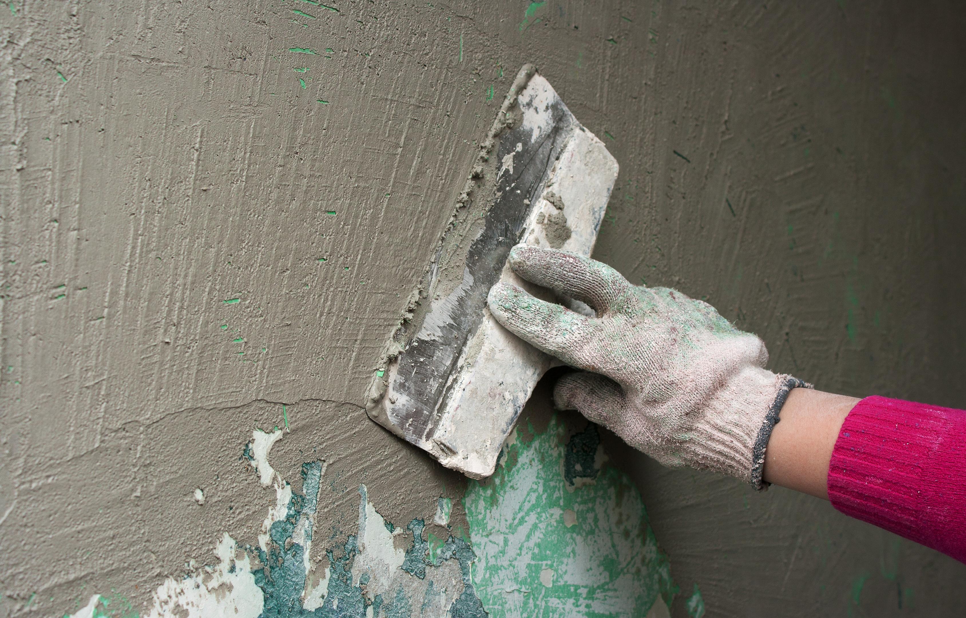 Шпаклевка стены перед укладкой плитки