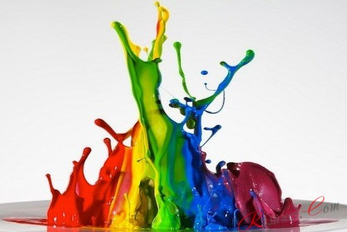 множество красок