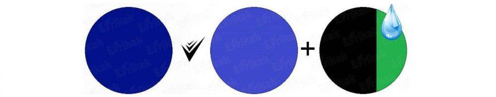 как получить королевский синий цвет
