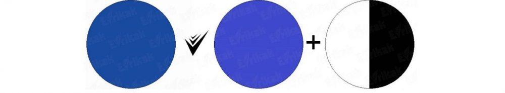как получить синий цвет веджвуд