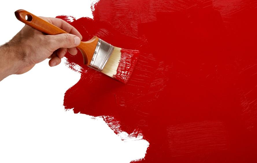 Покраска кистью