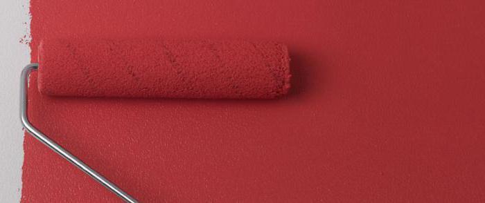 как правильно красить валиком стены и потолок