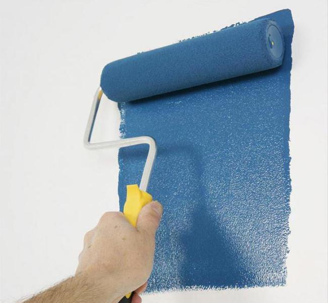 как правильно красить стены валиком без следов