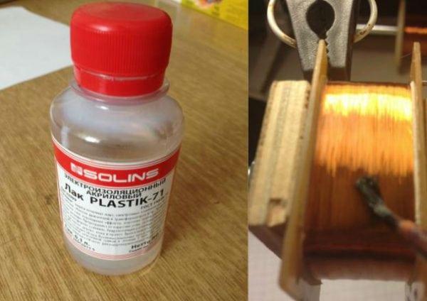 Что такое электроизоляционный лак и для чего его использовать?