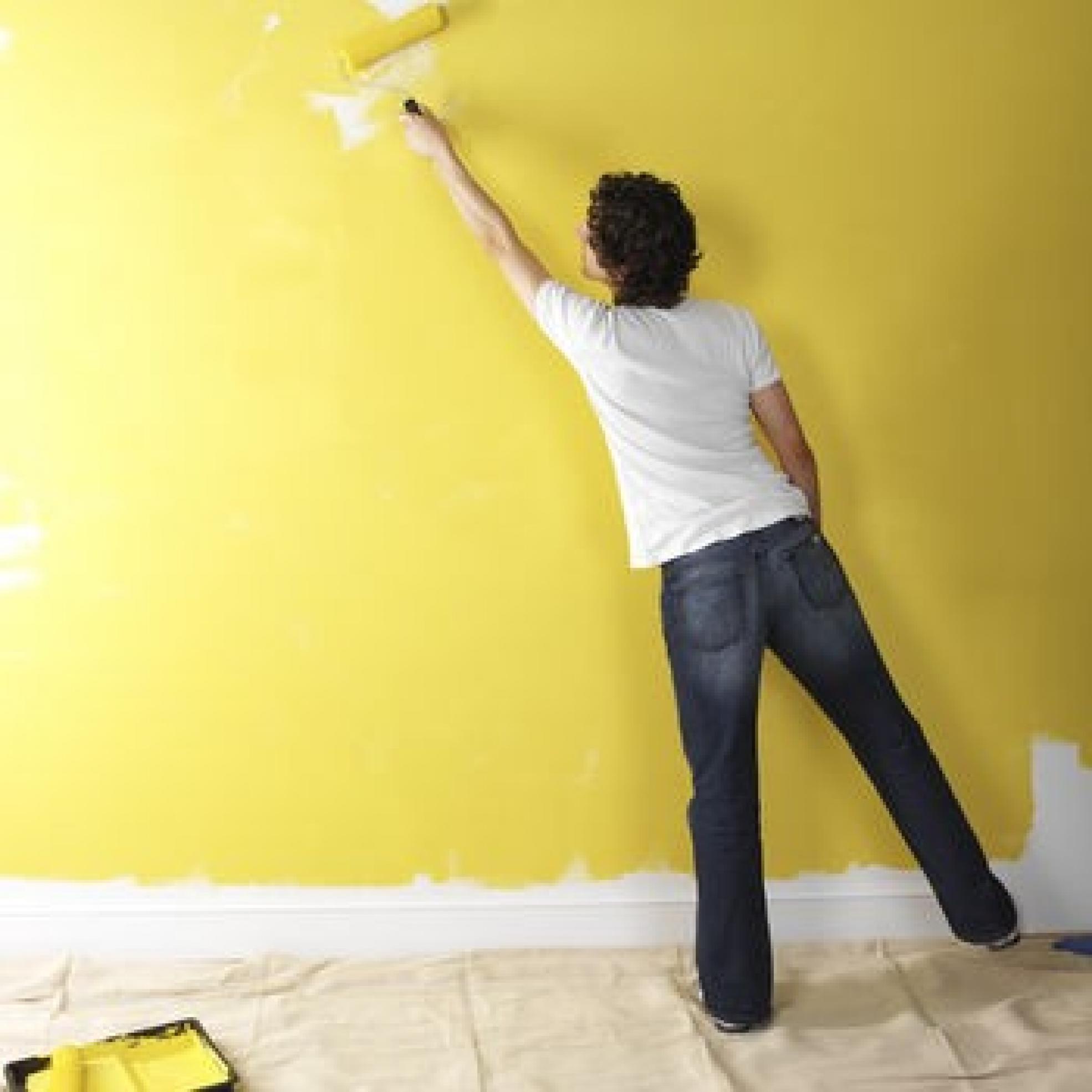 идея использования водоэмульсионной краски в ремонте стен квартиры