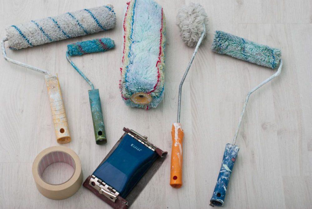 инструменты для окраски