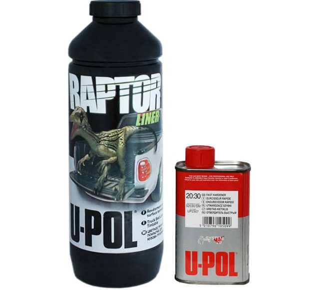 Raptor U-POL с отвердителем