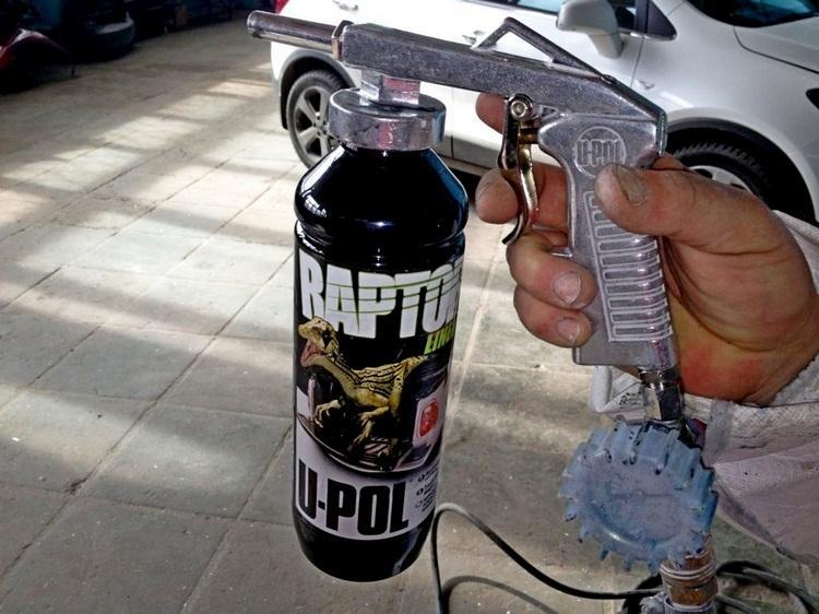 Пистолет для нанесения Раптора