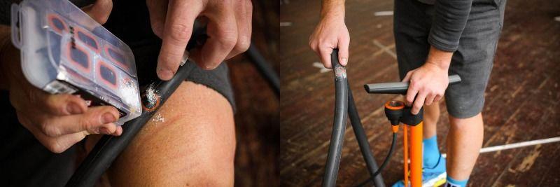 ремонт камеры велосипеда своими руками