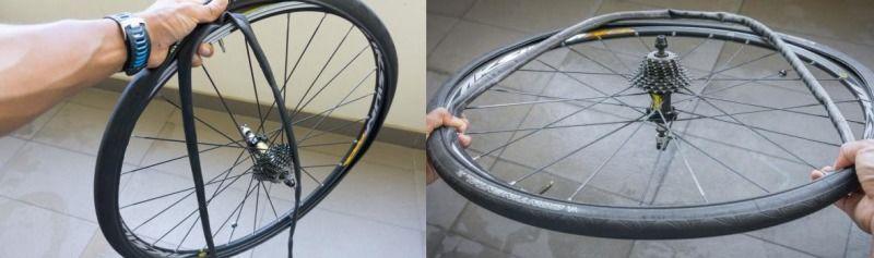 как отремонтировать камеру велосипеда