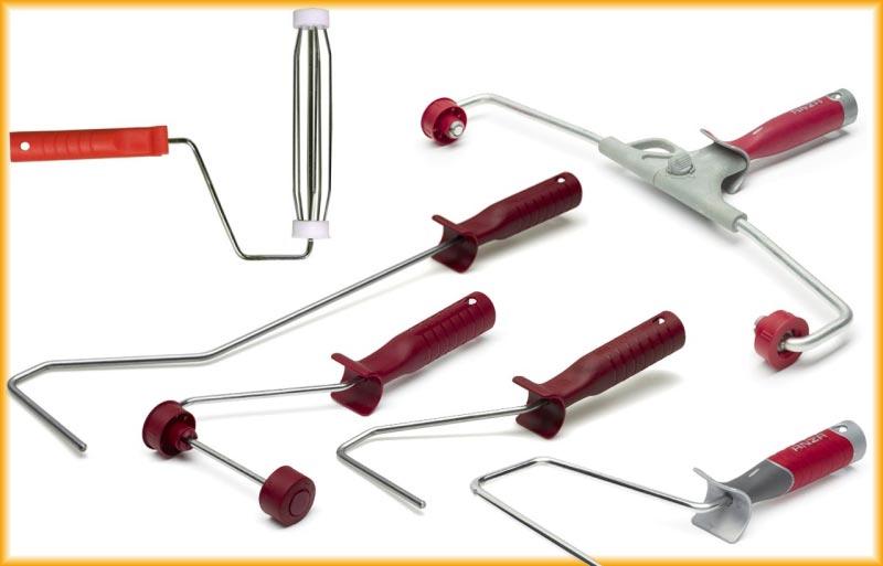 Современные валики оснащены удобной системой крепления шубки, которая позволят легко менять насадку