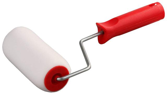 Поролоновый валик можно использовать для покраски любой поверхности