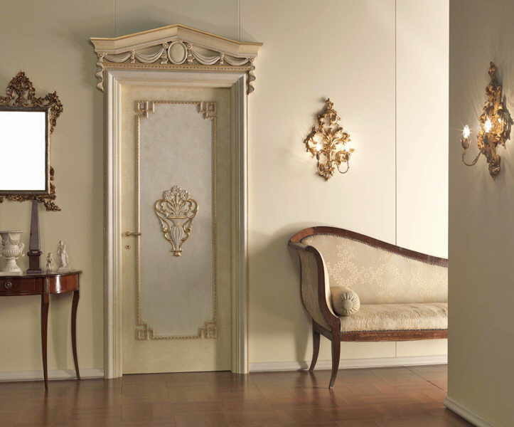 Варианты дизайна дверей в ванную комнату после обновления своими руками, пример 2