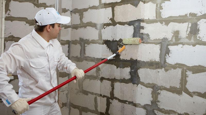 виды грунтовок для стен